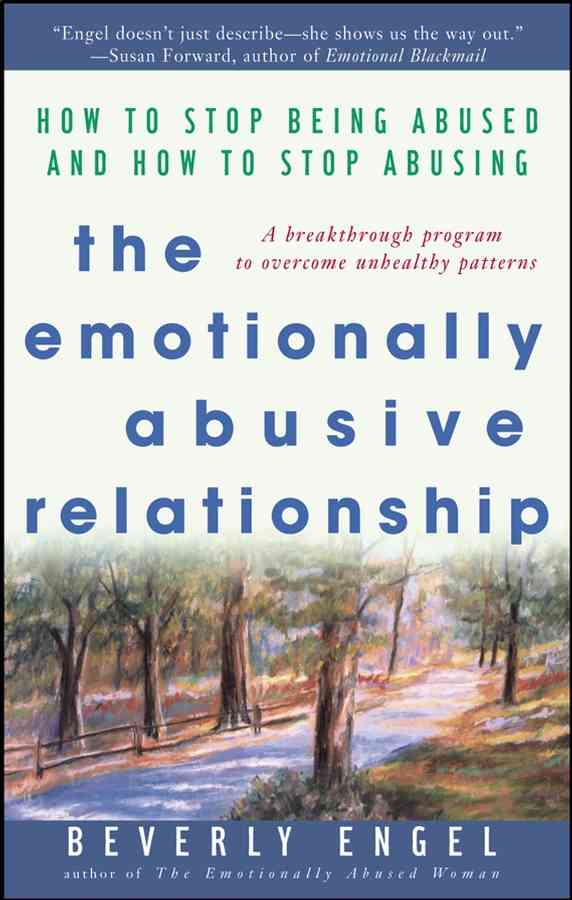 The Emotionally Abusive Relationship By Engel, Beverly